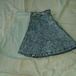 Dresses & Skirts - Denim skirt bundle